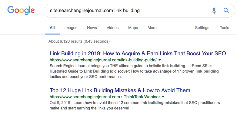3_sitesearchenginejournal com-link-building-Google-Search
