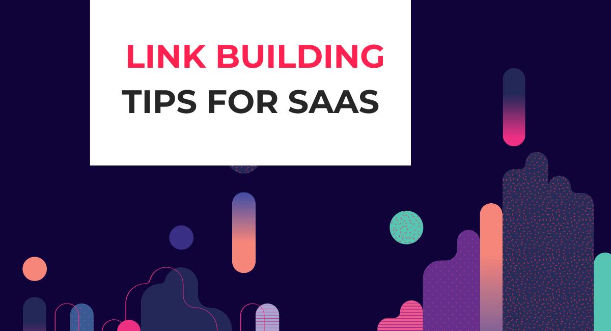 saas link building tips