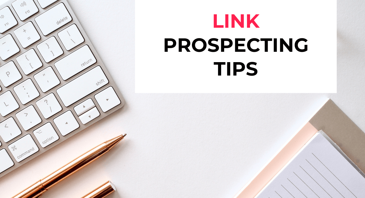 link prospecting tips