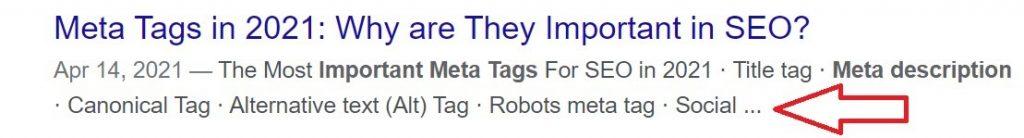 bad meta description example